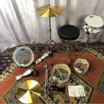 Pearl RT-5124N Rhythm Traveler Light リズムトラベラー ライト ホワイト 軽量 ドラム スネア ハイハット パーツ パール ドラムセット