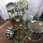 YAMAHA YD3000 フルセット シルバー ヴィンテージ ドラム フロア スネア ヤマハ 日本製 YD5000 ドラムセット タム