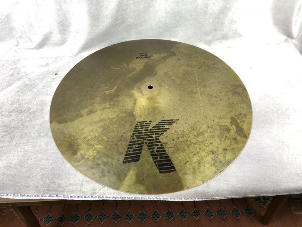 zildjian K Custom Dry Ride 20インチ ジルジャン カスタムドライ ライド シンバル ドラム